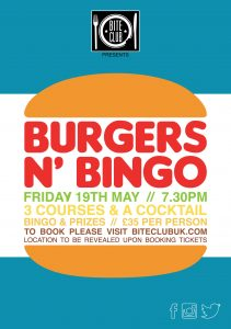 BC Burgers n Bingo 2017