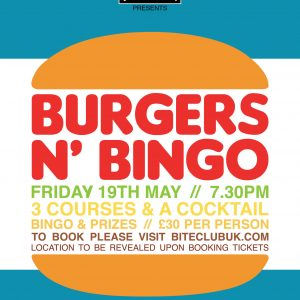 BC Burgers n Bingo 2017-2